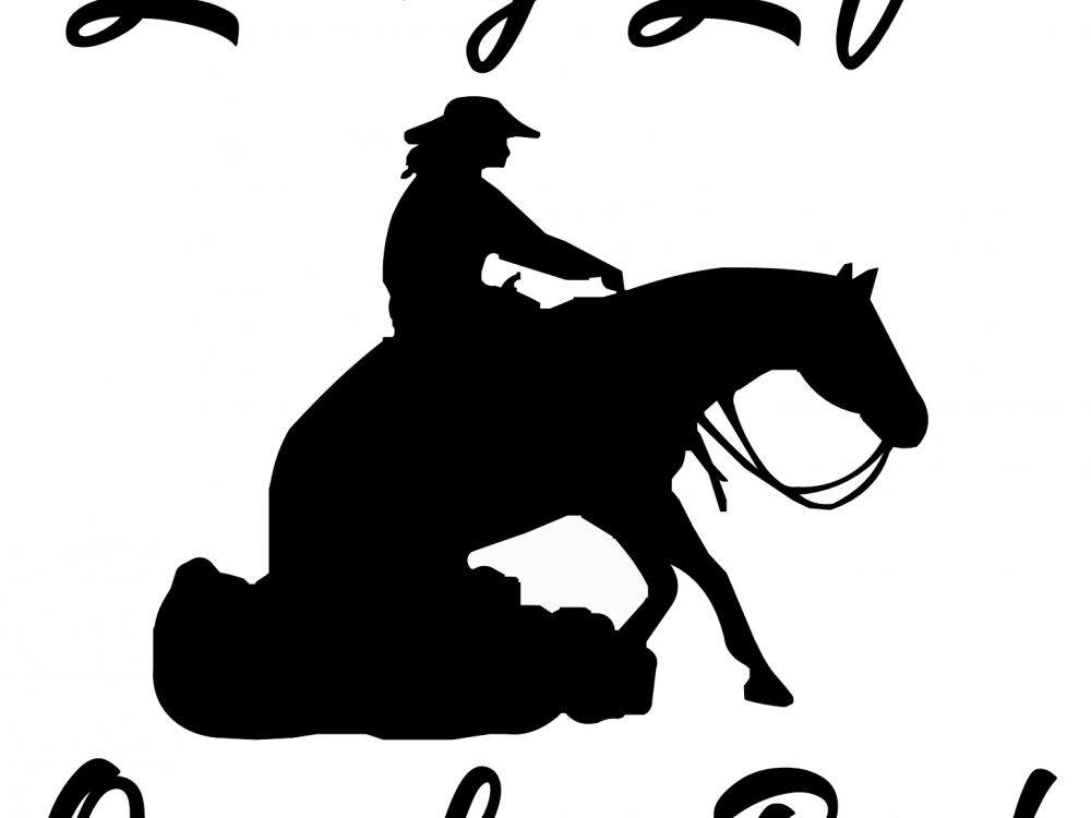 Horse Decal Living Life On A Loose Rein Cowgirls Loft