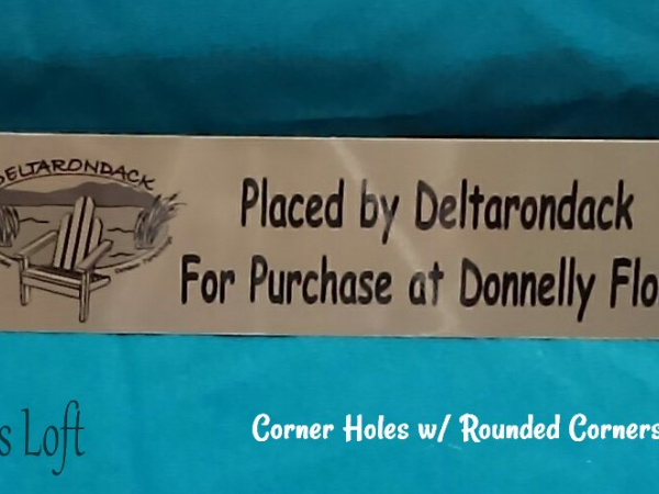 Rounded Corner Sign Sample
