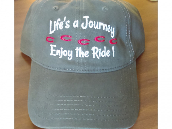 Embroidered cap Life's a Journey enjoy the ride! main image