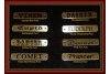 Brass Tags for Horse Halters or Dog Collars