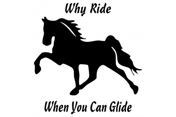 Tennessee Walking Horse Decal TWH